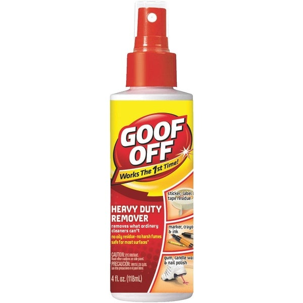 Goof Off 4Oz Stain/Spot Remover