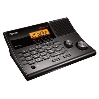 Uniden BC365CRS Clock/Radio Scanner with Weather Alert