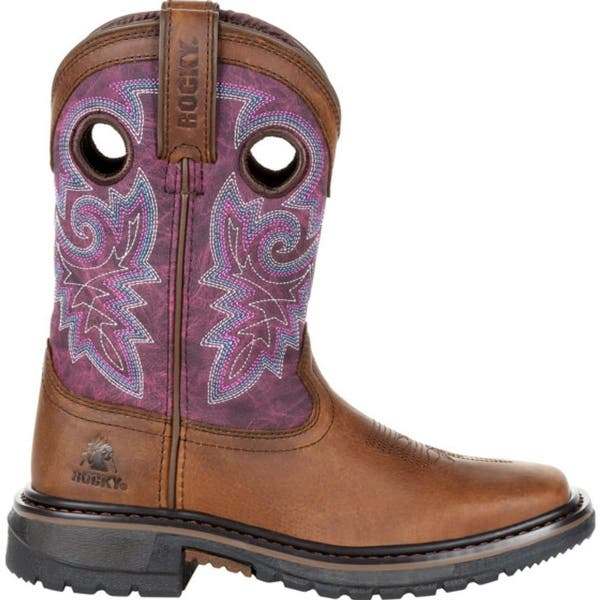 Rocky Big Kids Ride FLX Western Boot