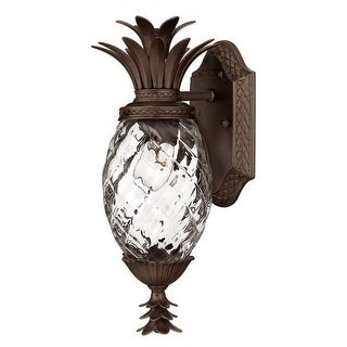 """Hinkley Lighting H2226 15"""" Height 1 Light Outdoor Wall Sconce from the Plantation Collection"""