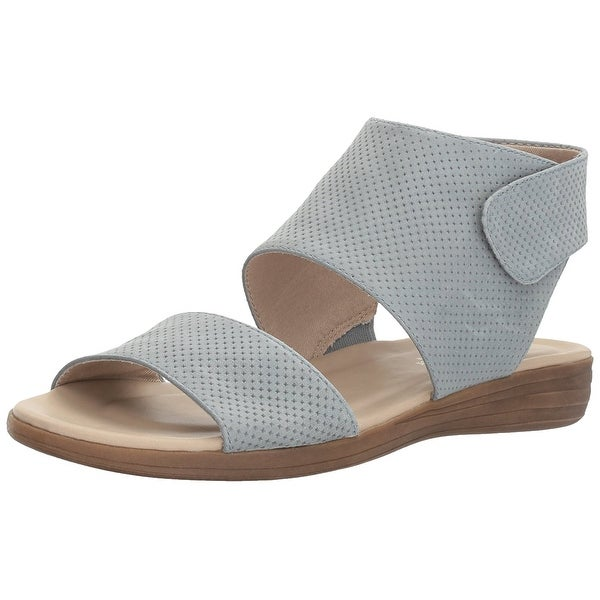 Naturalizer Womens Fae Leather Open Toe Casual Slingback Sandals