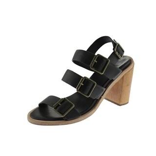 FIEL Womens Edith Leather Slingback Sandals