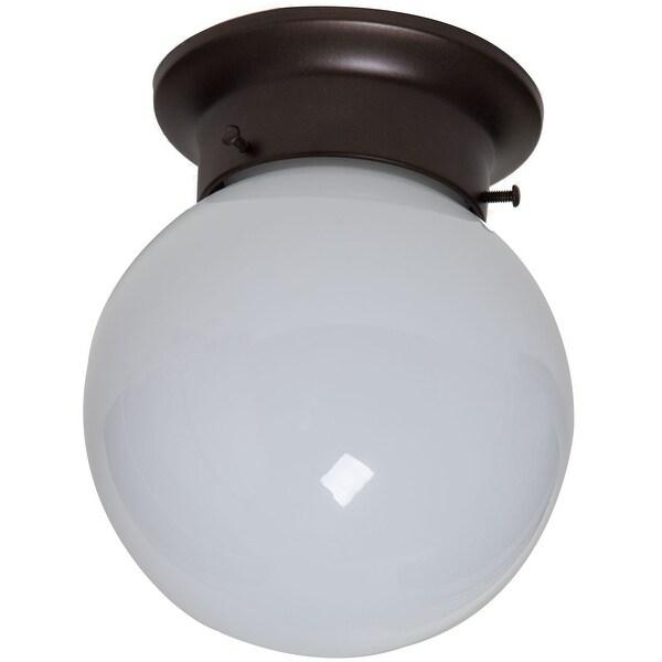 Boston Harbor F301-3375-ORB Flush Ceiling Light Fixture, Oil-Rubbed Bronze