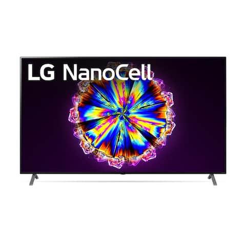 LG 75NANO90UNA 75 in 4K TV Bundle w/ Extended Warranty - Black - 60 Inches & Over