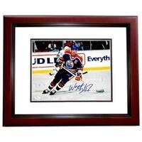Wayne Gretzky Signed - Autographed Edmonton Oilers 11 x 14 in.