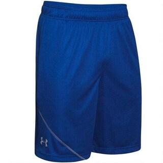 Under Armour Men's Quarter Training Shorts - Royal Blue - Small