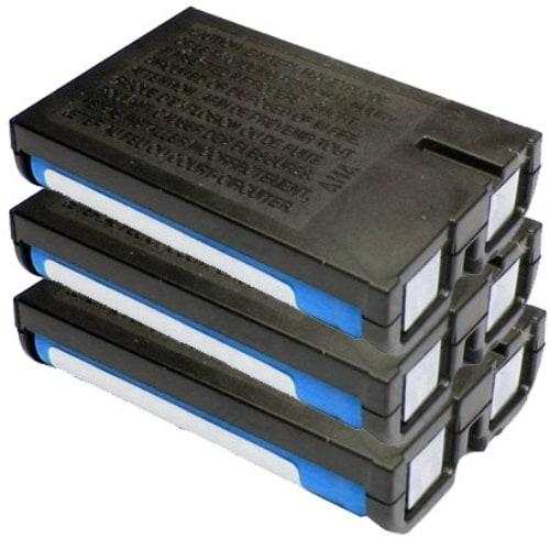 Replacement Panasonic KX-TG2267B NiMH Cordless Phone Battery (3 Pack)
