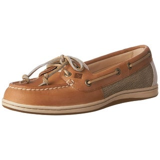 Sperry Womens Firefish Core Leather Closed Toe Boat Shoes