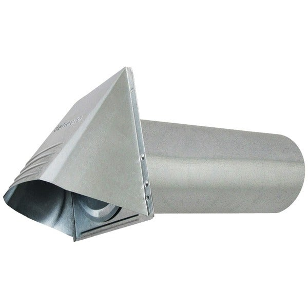"""Deflecto Gvh4 4"""" Wide-Mouth Galvanized Vent Hood"""