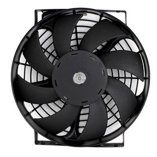Black Heat Sink Cooling Fan Cooler for Vehicle Car Air Conditioner