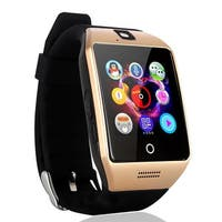AGPtek Q18S Smart Watch LCD Touch Wristwatch w/ Camera Anti-lost Call Message for Android Smartphone