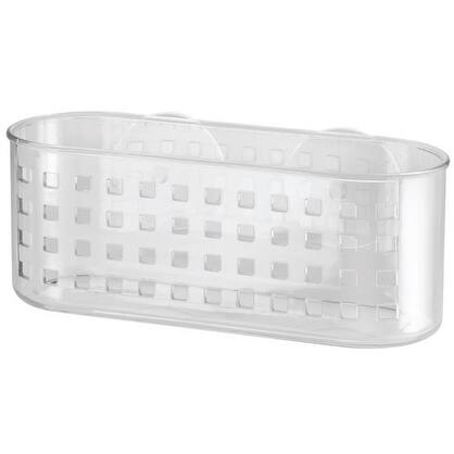 InterDesign 41600 Suction Shower Basket, Clear