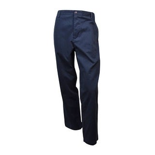 Dockers Men's Classic-Fit Flat-Front Pants (Nightwatch Blue, 34x32) - nightwatch blue - 34X32