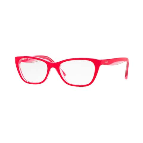 Vogue VO2961 2773 51 Fuxia/pink/transparent Womens Cat Eye Eyeglasses