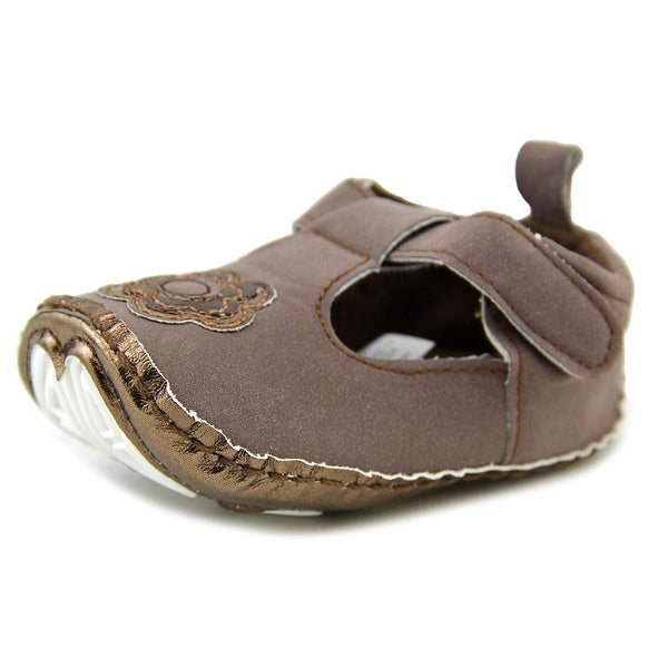 Luvable Friends Baby Booties Infant  Round Toe Synthetic  Mary Janes