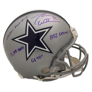 Jason Witten Autographed Dallas Cowboys Proline Helmet 4 Insc JSA