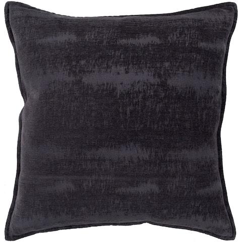 "Carson Carrington Tass Midnight Blue Feather Down Throw Pillow (20"" x 20"")"