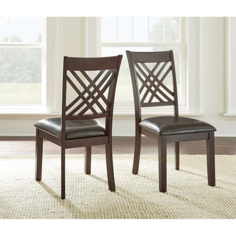 Greyson Living Alston Dining Chairs (Set of 2) - 40 inches high x 19 inches wide x 24 inches deep