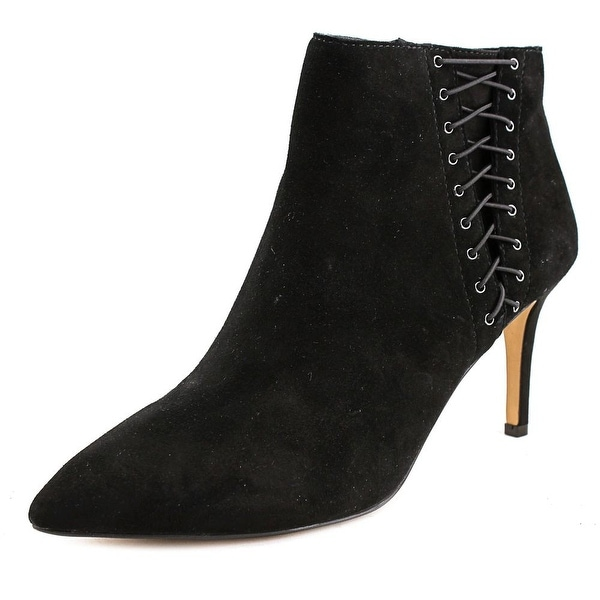 INC International Concepts Tovie Women Black Boots