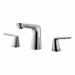 Kraus FUS-1823 Seda? Widespread Bathroom Faucet - Metal Pop-Up Drain Included