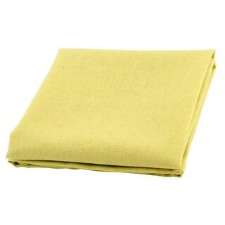 Family Cotton Linen Square Heat Resistant Teapot Bowl Placemat Mat Pad  Yellow