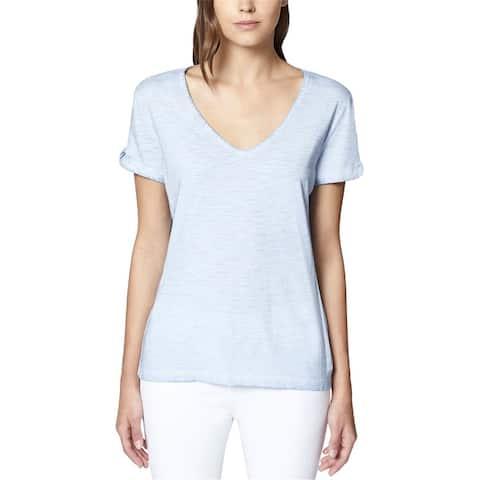 Sanctuary Clothing Womens Twist Sleeve Basic T-Shirt