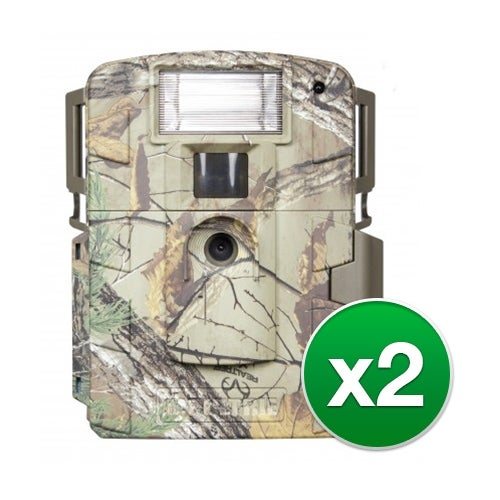 Moultrie MCG-13037 White Flash Game Camera with White Xenon Flash & 14.0 MP Resolution - (2-Pack)