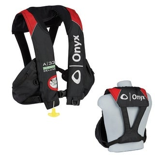 Onyx a-33 in-sight duluxe tournament automatic vest 133600-100-004-15