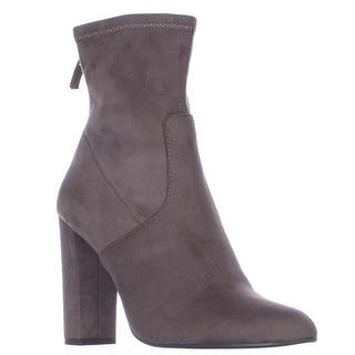 Steve Madden Brisk Stretch Ankle Booties, Grey|https://ak1.ostkcdn.com/images/products/is/images/direct/234cd8f635aea52e42707ba6992eb9492f6031a9/Steve-Madden-Brisk-Stretch-Ankle-Booties%2C-Grey.jpg?impolicy=medium
