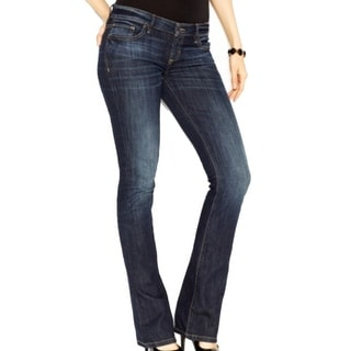 Guess NEW Blue Women's Size 25X30 Low Rise 5-Pocket Boot Cut Jeans