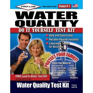 PRO-LAB WQ105 Do-It-Yourself Water Quality Test Kit - n/a - N/A