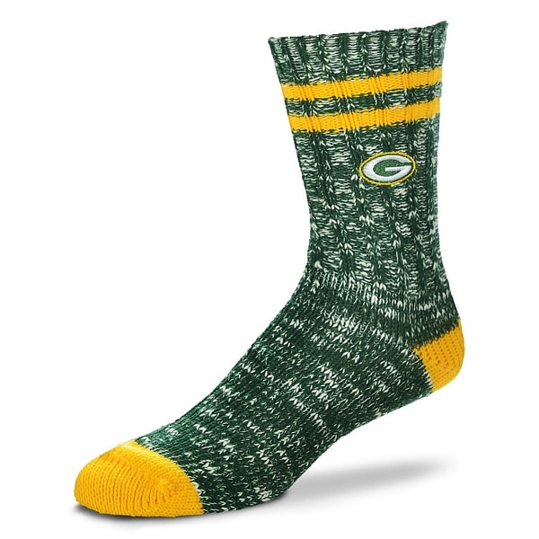 Green Bay Packers Alpine Crew Socks, Medium