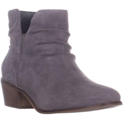 Cole Haan Alayna Slouch Ankle Boots, Stormcloud Suede