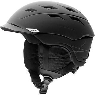 Smith Optics Unisex Adult Variance Snow Sports Helmet - Matte Black Xlarge (63-67CM) - MATTE BLACK