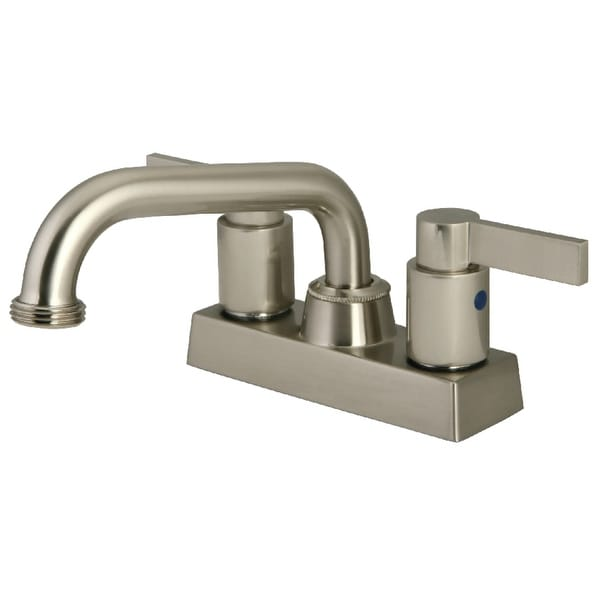 Kingston Brass KB247.NDL NuvoFusion4 GPM Centerset Kitchen Faucet