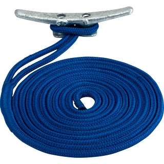Sea Dog Line Sea Dog Double Braided Nylon Dock Line 3 8 X 25 Blue 302110025bl 1