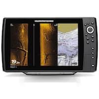 Humminbird 410380-1 Helix 12 Chirp Mega SI GPS G2N Combo