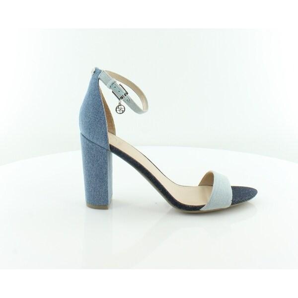 Guess Bamboo Women's Sandals & Flip Flops Blue Multi