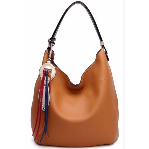 MKF Collection Ciara Vegan Leather Hobo Bag by Mia K. Farrow