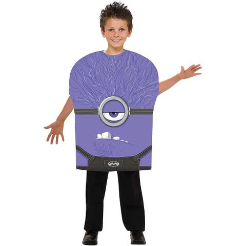 Despicable Me 2 Evil Minion Foam Costume Child - Purple