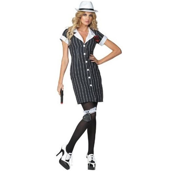 RG Costumes 81648-L Bonnie Sly Pinup Dress, 8 - 10
