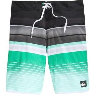 Quiksilver Mens Microfiber Colorblock Board Shorts