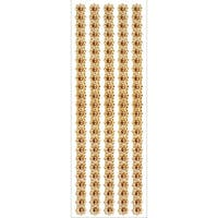 MultiCraft Jewel Border Stickers -Gold Pearl Floral