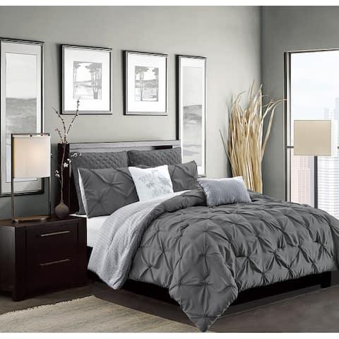 Olympia 7-Piece Reversible Comforter Set