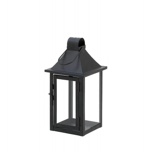 Small Classic Black Iron Candle Lantern