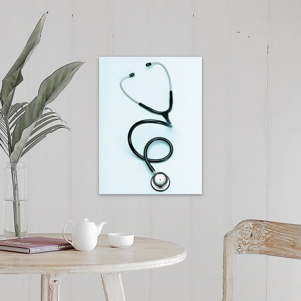 Stethoscope Canvas Wall Art Overstock 16444564