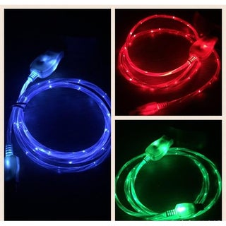 """iPhone/iPad """"Visible Current Flow"""" Light Up Charger (2 options available)"""