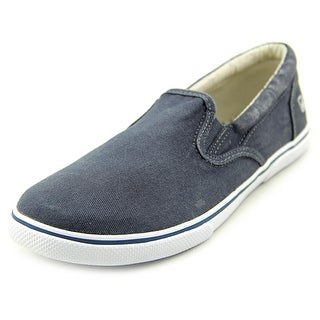 Sperry Top Sider Halyard Slip-On Round Toe Canvas Loafer
