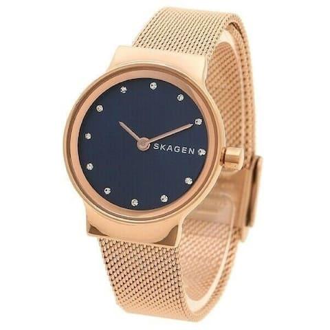 Skagen Women's SKW2740 'Freja' Rose Gold-Tone Stainless Steel Watch