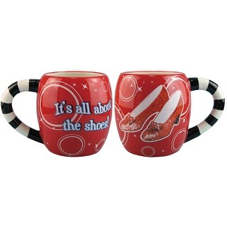 Wizard of Oz It's All About The Shoes! 14oz Mug